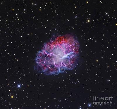 The Crab Nebula Poster by Robert Gendler