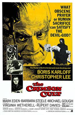 The Crimson Cult, Aka The Crimson Altar Poster