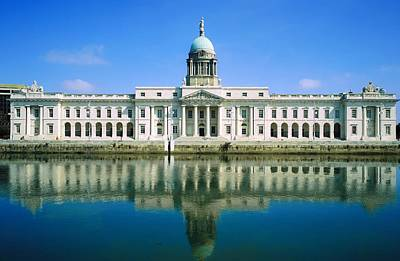 The Custom House, River Liffey, Dublin Poster by The Irish Image Collection
