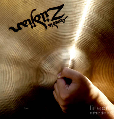 The Cymbal  Poster by Steven Digman
