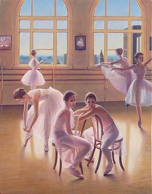 The Dance Class Poster by Patrick Anthony Pierson
