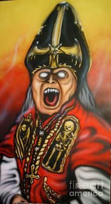 The Dark Bishop Poster by Matt Detmer