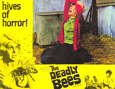 The Deadly Bees, Catherine Finn, 1967 Poster by Everett