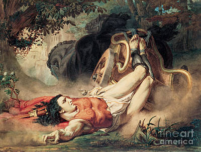 The Death Of Hippolyte Poster
