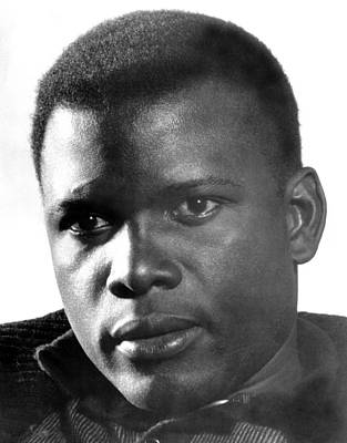 The Defiant Ones, Sidney Poitier, 1958 Poster