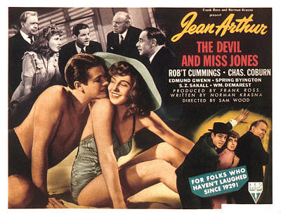 The Devil And Miss Jones, Robert Poster by Everett