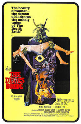 The Devils Bride, Aka The Devil Rides Poster