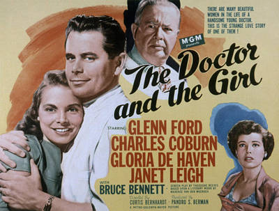 The Doctor And The Girl, Janet Leigh Poster