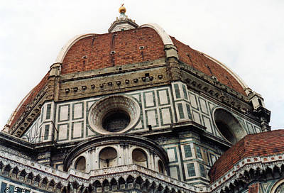 Poster featuring the photograph The Duomo In Florence by C Sitton