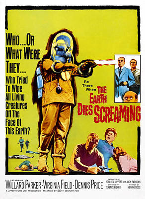 The Earth Dies Screaming, 1964 Poster by Everett