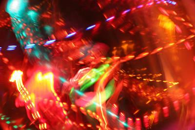 The Electric Cosmos      Nebula Traffic Jam Poster by Artist Orange