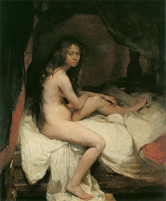 The English Nude Poster