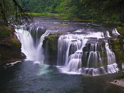 Poster featuring the photograph The Falls by David Gleeson