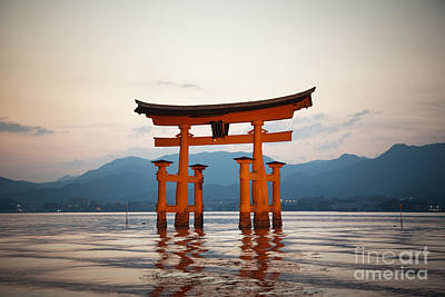 The Floating Torii Poster
