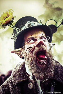 Poster featuring the photograph The Fool Goblin by Stwayne Keubrick