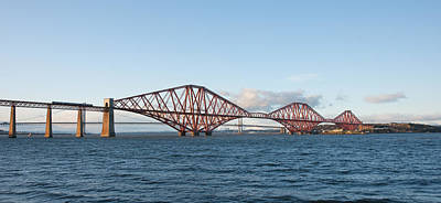 The Forth Bridges Poster