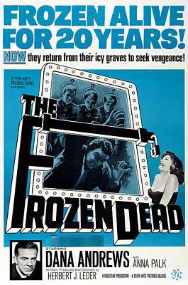 The Frozen Dead, Bottom Left Dana Poster