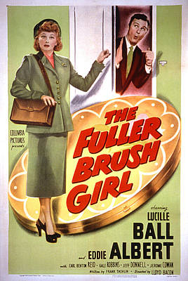 The Fuller Brush Girl, Lucille Ball Poster by Everett