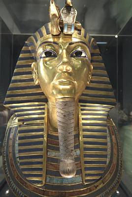 The Funeral Mask Of King Tutankhamun Poster