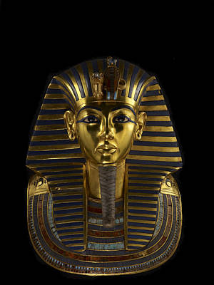 The Funerary Mask Of King Tutankhamun Poster