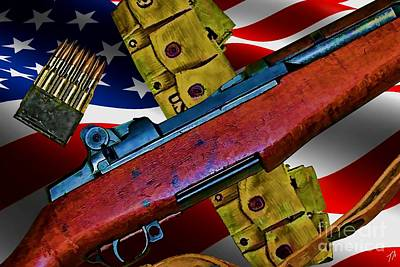 The Garand Poster by Tommy Anderson