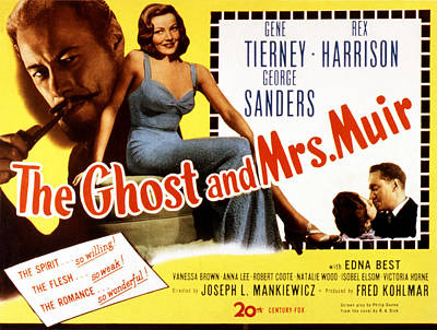 The Ghost And Mrs. Muir, Poster Art Poster