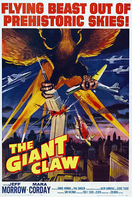 The Giant Claw, Poster, 1957 Poster by Everett