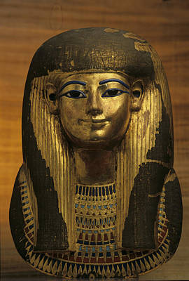 The Gilded Funerary Mask Of Tuts Poster