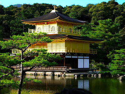 The Golden Temple In Kyoto Poster