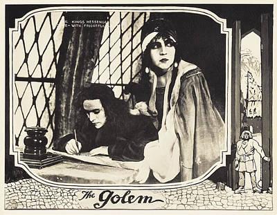 The Golem, Aka Der Golem, Wie Er In Die Poster