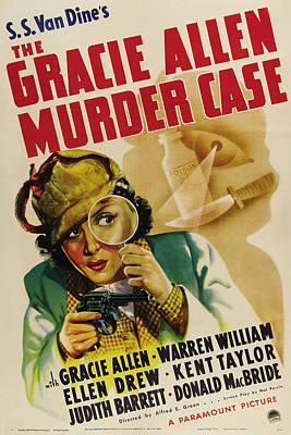 The Gracie Allen Murder Case, Gracie Poster by Everett