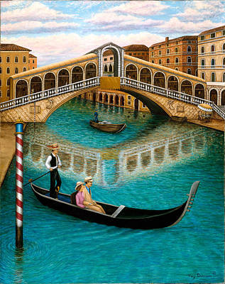 The Grand Canal Poster by Tracy Dennison