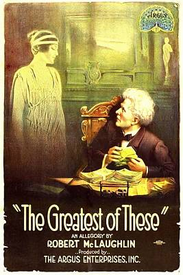 The Greatest Of These, From Left, Belle Poster by Everett