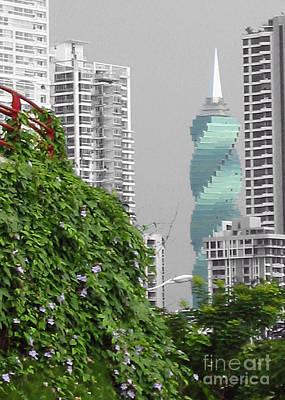 The Green Season In Panama Poster