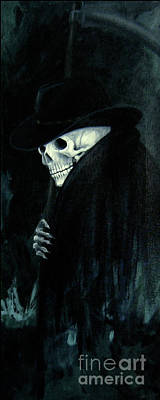 The Grim Reaper Poster by Barbara Marcus