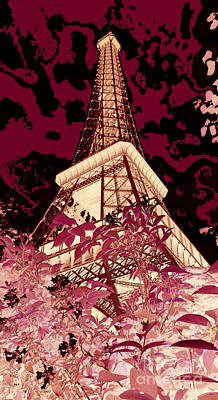 The Heart Of Paris - Digital Painting Poster
