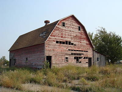 Poster featuring the photograph The Hole Barn by Bonfire Photography