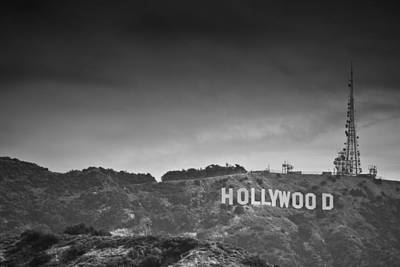 The Hollywood Sign Poster by Ralf Kaiser