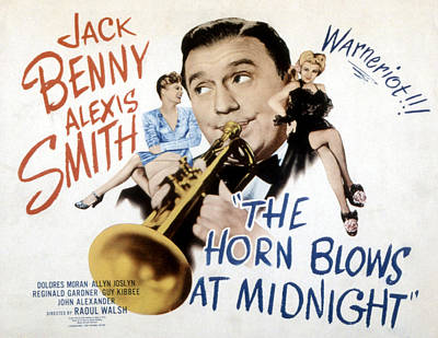 The Horn Blows At Midnight, Alexis Poster