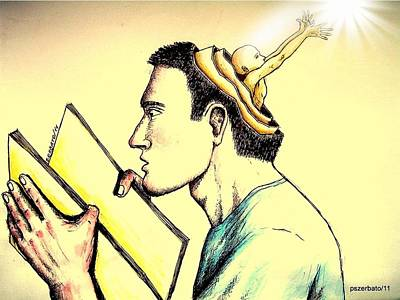 The Human Symbolic Communication Poster by Paulo Zerbato