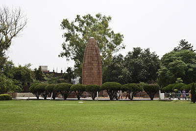 The Jallianwala Bagh Memorial In Amritsar Poster by Ashish Agarwal