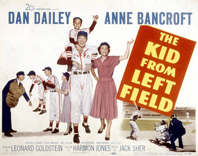 The Kid From Left Field, Dan Dailey Poster by Everett