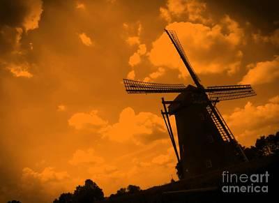 The Land Of Orange Poster by Carol Groenen
