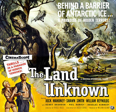 The Land Unknown, Bottom Left From Left Poster by Everett