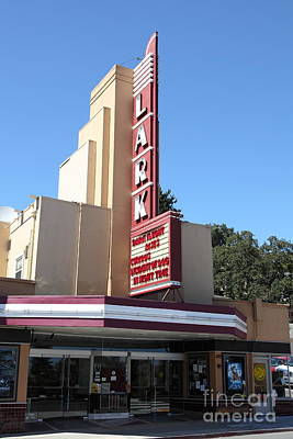 The Lark Theater In Larkspur California - 5d18484 Poster by Wingsdomain Art and Photography
