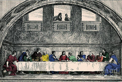 The Last Supper Poster by Photo Researchers