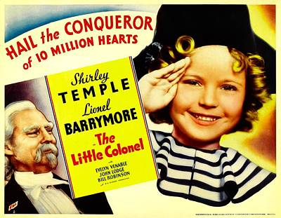 The Little Colonel, Shirley Temple Poster