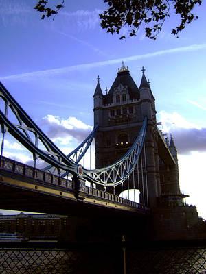The London Tower Bridge Poster