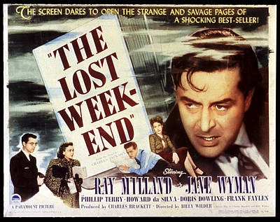 The Lost Weekend, Philip Terry, Jane Poster