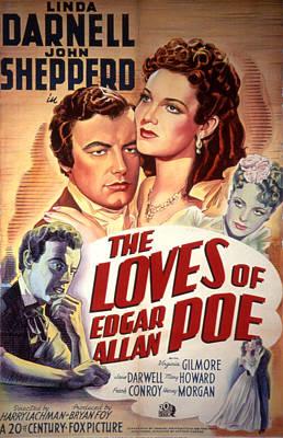 The Loves Of Edgar Allen Poe, Shepperd Poster